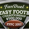 $500,000 Fanduel Fantasy Football Championship!