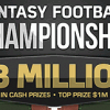 $3,000,000 Fantasy Football Championship for 2013-14!